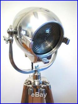 Vintage Strand Theatre Spot Light Industrial Antique Old Film Studio Lamp Eames