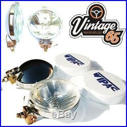 Vintage Warehouse 65 Wipac Classic Chrome Fog & Spot Lamp Wiring Kit