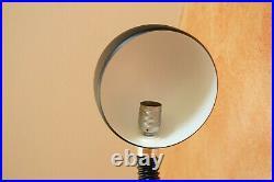 XXL Hillebrand schwarz Tisch Lampe Spot Schwanenhals Leuchte 70er Kugel Vintage